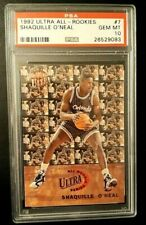 Shaquille O'Neal 1992-93 Fleer Ultra All-Rookies RC Rookie PSA 10 Gem Mint HOF!!