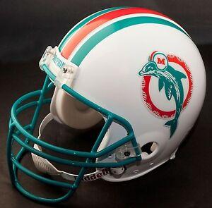 DAN MARINO Edition MIAMI DOLPHINS Riddell REPLICA Football Helmet (LIGHT AQUA)
