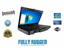 Panasonic Cf-53 i5  Toughbook Laptop 8 Gb 500 Gb Windows 10 64 3G Diagnostics