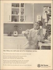 1961 vintage AD Bell System  Old fashioned Wall rotary dial Telephone  (011016)