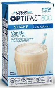 OPTIFAST® 800 READY-TO-DRINK SHAKES | VANILLA | 1 CASE | NEW & FRESH EXP: 07/22