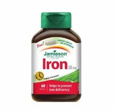 Jamieson Iron 50mg 60Tablets