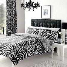 Parures et housses de couette noirs en polyester pour chambre à coucher