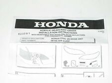 HONDA Civic Headlight Stone Guard Guide 08109-S6A-EURO