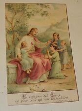 """Image Pieuse : """"Le royaume des CIEUX est pour ceux qui leur ressemblent"""" St. MAT"""