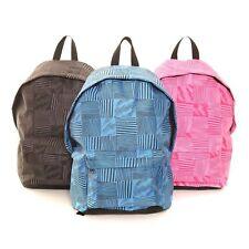 Unisex Lightweight Rucksack Backpack - Multi Colour School College  Zip Pockets