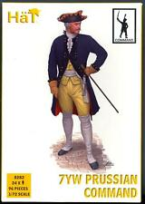 HaT Miniatures 1/72 SEVEN YEARS WAR PRUSSIAN COMMAND Figure Set