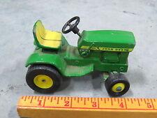 Vintage John Deere 140 Green Patio Toy Lawn Garden Tractor Original Ertl 1/16