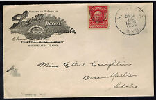 1905 Kemmer Wyoming USA Security Mutual Life Advertising Cover to Montpelier ID