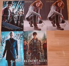 Harry Potter  _   5 POSTER  _ Collection  / Sammlung  _ Daniel Radcliffe