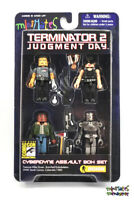 Terminator 2 T2 Minimates Cyberdyne Assault Box Set