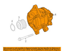 TOYOTA OEM 14-18 Corolla-Alternator 270600T230