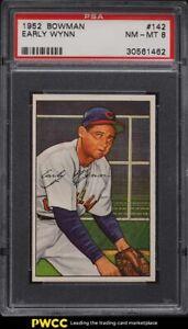 1952 Bowman Early Wynn #142 PSA 8 NM-MT