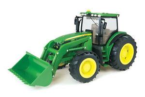 Ertl 1/16 Scale John Deere Big Farm Model 6210R Tractor with Loader 46074