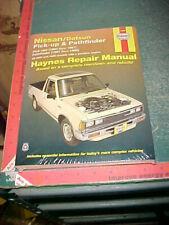 1980 thru 1997 NISSAN DATSUN PICKUPS & PATHFINDER BODY CHASSIS REPAIR MANUAL new
