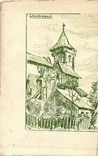 Wächtersbach, Künstlerkarte auf Büttenpapier, um 1900/05