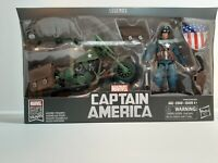 Hasbro Marvel Legends 80th Captain America & Motorcycle 6 Inch Action Figure NEW