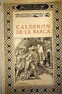 Calderón de la Barca / Calderón de la Barca, Pedro