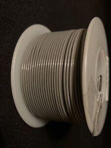 """24 GA. 19 Strand Type """"ET"""" Teflon Gray MIL16878/6-24 200°C @ 600V  100 ft. spool"""