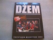 Dżem - Przystanek Woodstock 2004 CD+DVD - POLISH RELEASE