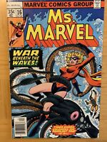 Ms Marvel #4 AKA Carol Danvers! Beautiful Fine Condition!! 1st App Of Mystique!