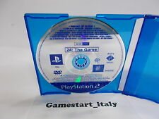 24 THE GAME (SONY PS2) PROMO VERSION - PAL VERSION
