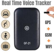 GF21 GPS Tracker Voice Recorder Control Locator Microphone WIFI+LBS+GPS Black