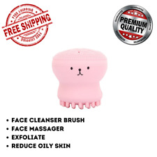 Face Cleanser Brush Silicone Facial Skin Cleansing Massage Exfoliating Cleaner