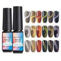 NICOLE DIARY 8ml Holografisch Nagel Gellack Cat Eye Nail UV Gel Polish Soak Off