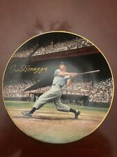 Joe DImaggio The Steak 56 from the Bradford Exchange Plate with Documents