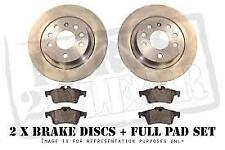 HONDA CIVIC FD2 TYPE-R REAR BRAKE DISC SET INCLUDING BRAKE PADS - JAPANPARTS