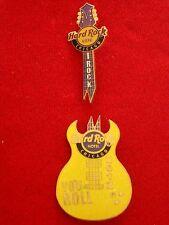 HRC Hard Rock Cafe Chicago Puzzle Set Smash Guitar Hotel LE300