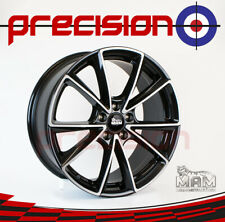 "19"" Set of 4 MAM Black Front Polish Alloys for Mercedes B-Class 2005-2011"