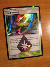 NM Pokemon LIFE FOREST Prism Star Card LOST THUNDER Set 180/214 Holo SM Trainer
