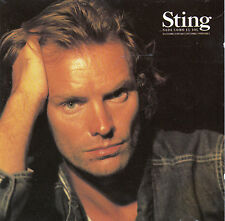 "CD ALBUM  STING  ""NADA COMO EL SOL"""