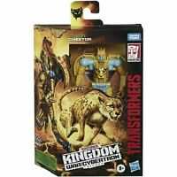 Transformers Cheetor Kingdom Deluxe Generations War for Cybertron