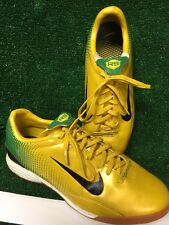 Nike R9 Ronaldo 11 Brazil Green Yellow Mercurial Vapor indoor Futsal World Cup
