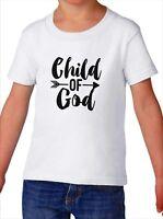 Toddler Child of God Shirt Christian Easter Gift Faith Kids T-Shirt Boy & Girl