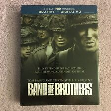 Band of Brothers (Blu-ray Disc, 2015, 6-Disc Set, Widescreen) Brand New Sealed