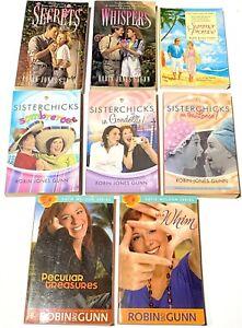 Robin Jones Gunn Paperback Lot Of 8 / Sisterchicks Katie Weldon Etc