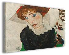 Quadro moderno Egon Schiele vol VI stampa su tela canvas pittori famosi