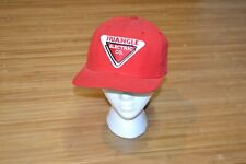 VTG TRIANGLE Electric CO Company New Era Made USA RED Snapback HAT Cap Michigan