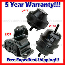 L944 Engine Motor & Trans Mount Set 3pcs for 1999-2003 Ford Windstar 3.8L