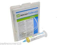Advion Cockroach Gel Bait 1 Tube, 1 plunger, 1 Tip, Roach Control Syngenta