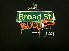 Reebok NHL Philadelphia Flyers Hockey Broad St Bullies Black Sweatshirt YS NWT