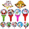 18'' Christmas Party Foil Balloons Ornament Snowman Santa Inflatable Xmas Decor