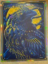 Dave Matthews Band Poster Noblesville IN 8/14/21 Deer Creek Rainbow Foil Variant