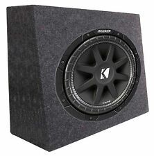 "New Kicker Car Audio 12"" Loaded Custom Truck Sub Box Enclosure W/ C12 Subwoofer"