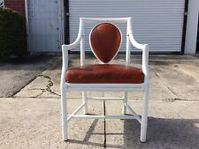 6 McGuire Leather Armchairs dining chairs