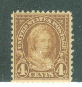 US-556 Martha Washington 4c ISSUED 1922-25 MNH